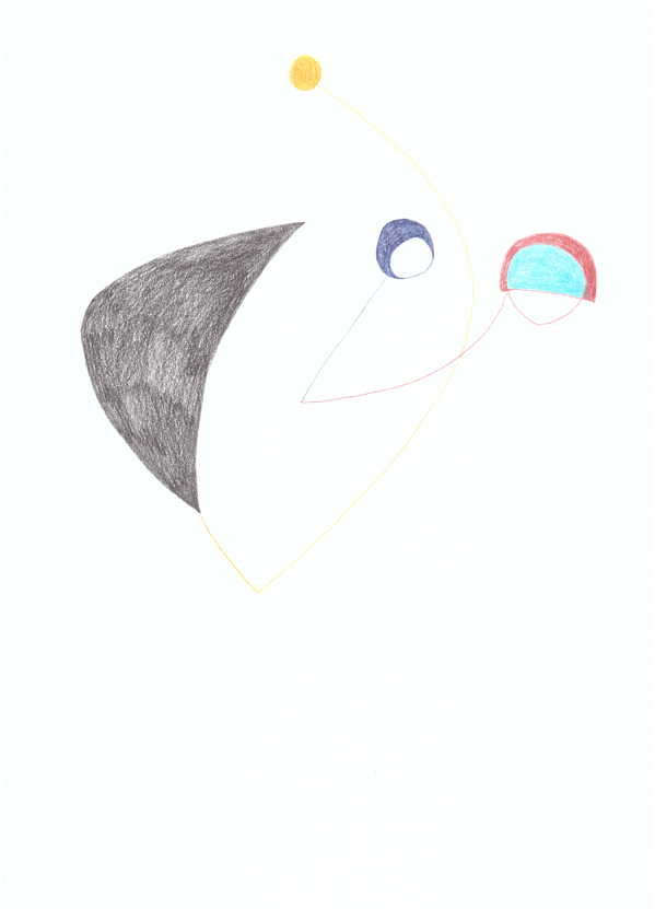 , 2012, Coloured pencil on paper, 29 x 21 cm, , unique artwork