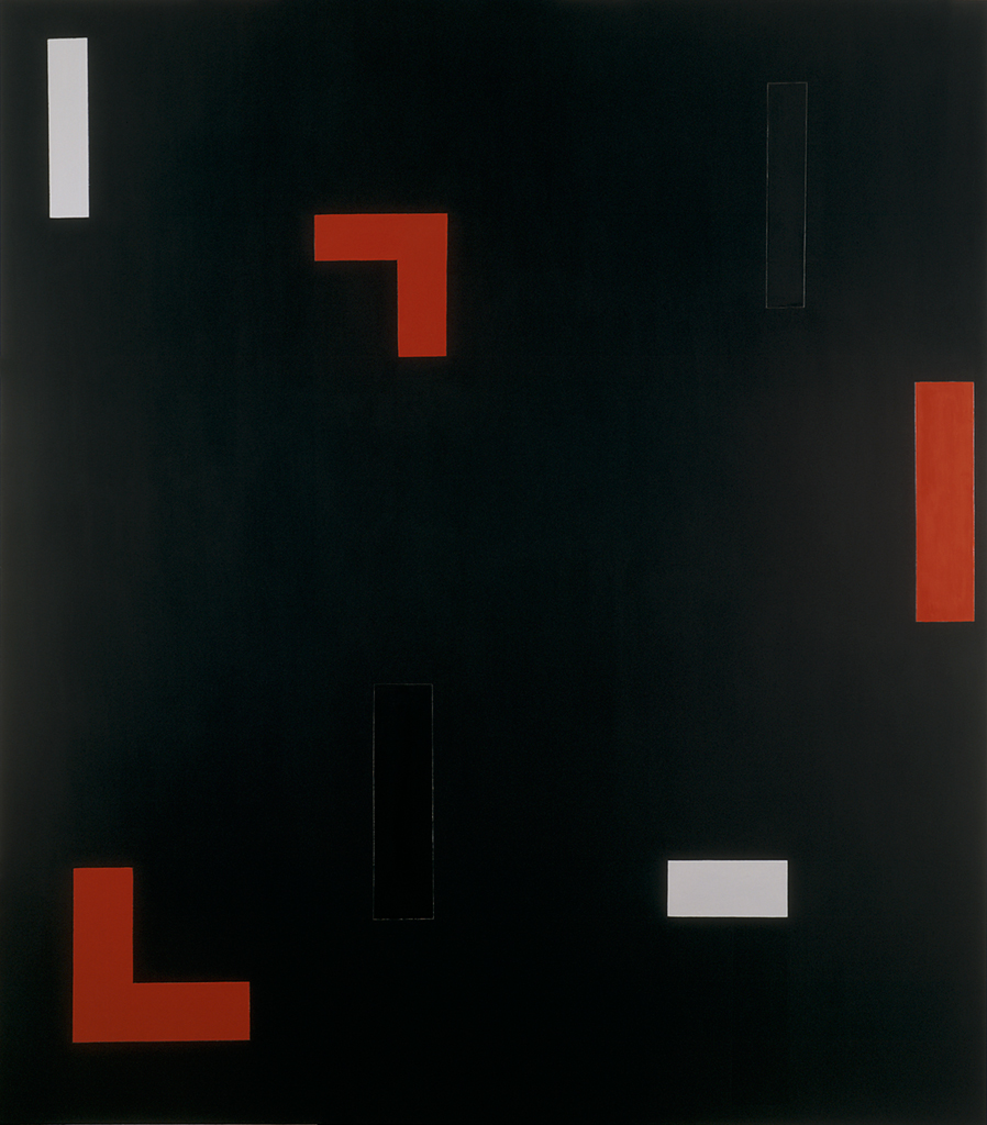 , 1993-94, Oil on canvas, 225 x 198 cm, , photo André Morain