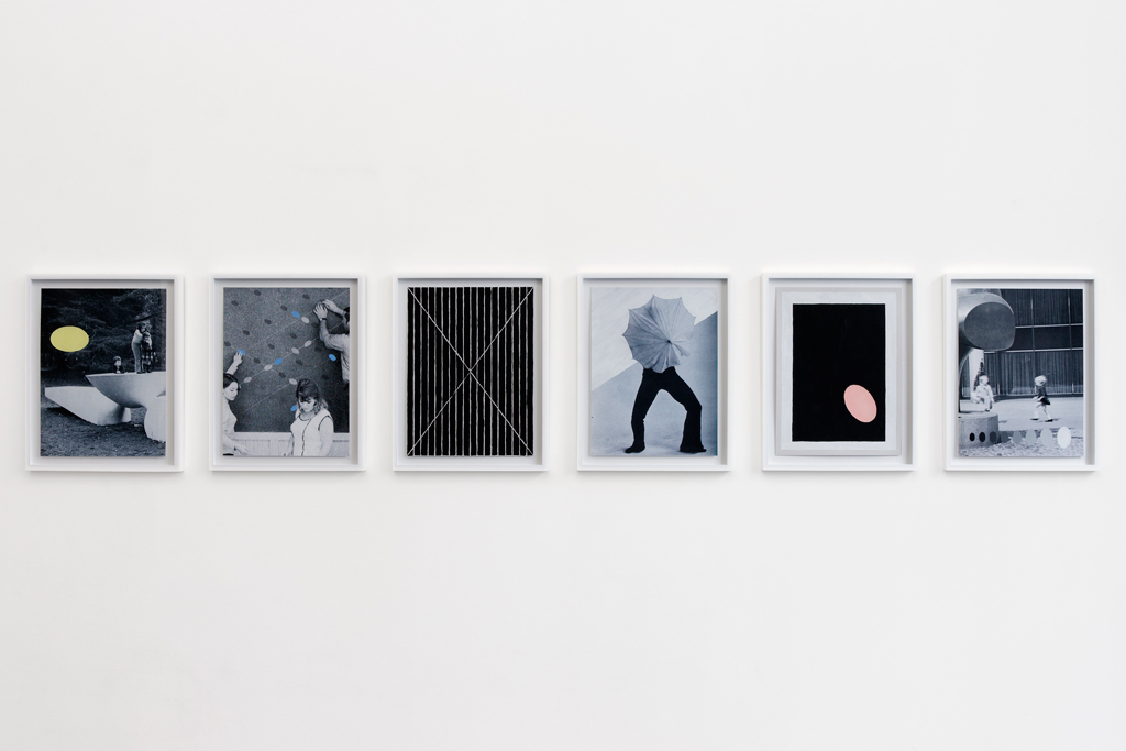 , 2011, Gouache, pencil, EPSON print on paper, 6 panels, each 30,4 x 22,7 cm, , unique artwork, photo: Aurélien Mole