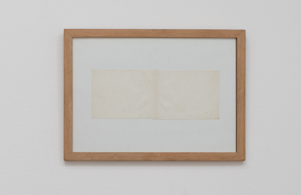 , 2001, Paper in an artist's frame, 23.6 x 32.8 cm, , unique artwork, photo: Pat Kilgore