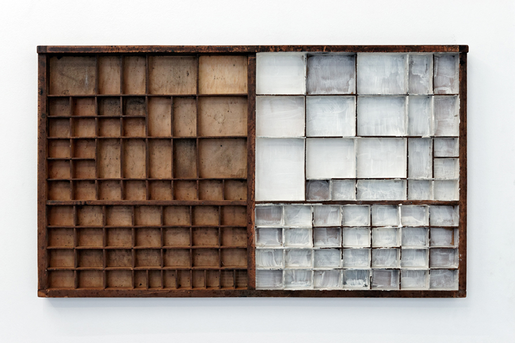 , 2012, Wood and painting, 50 x 85 x 5 cm, , photo: Aur�lien Mole, Private collection, New York, USA