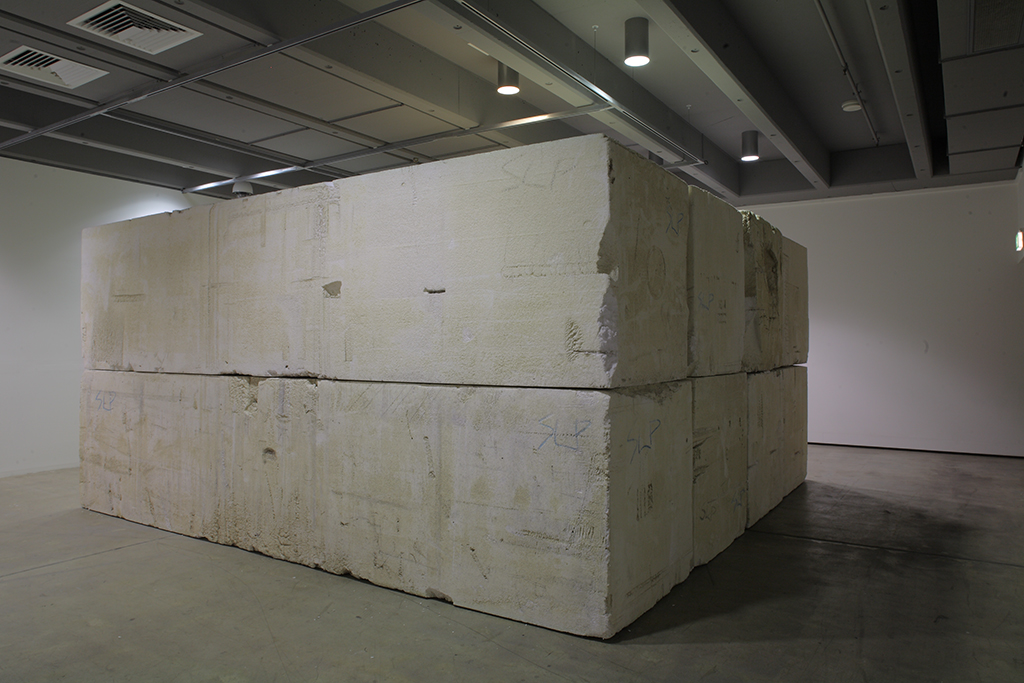 , 2009, Polystyrene, , unique artwork, Photo: Richard Stringer, Exhibition view at Institute of Modern Art, Brisbane, Australia