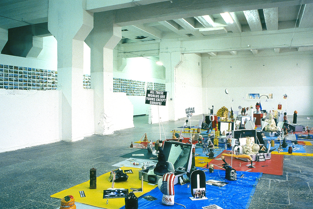 , 2000, Various objects, 550 x 1250 cm, , unique artwork, Collection Musée d'Art Contemporain de Lyon, Lyon, France