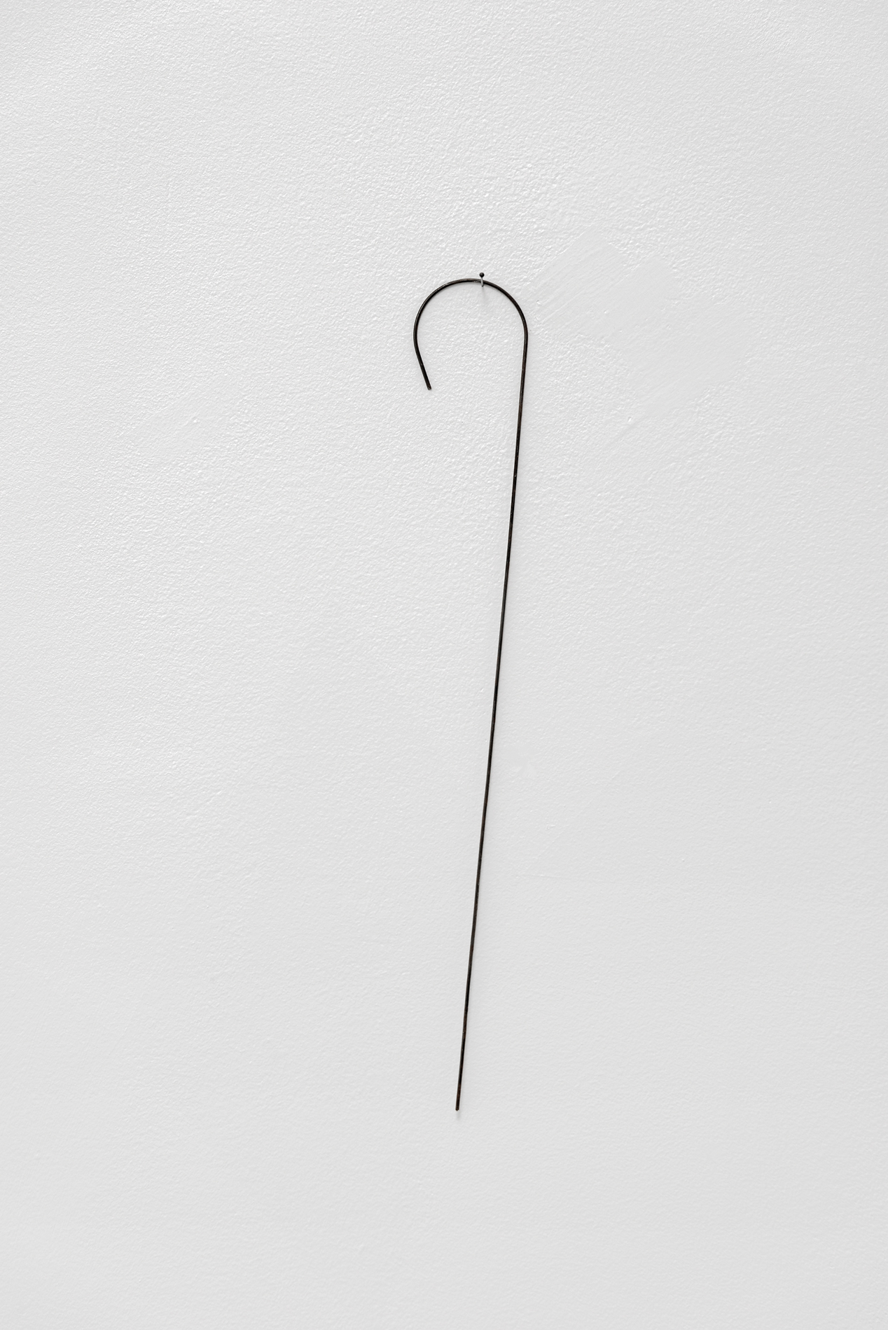 , 2017, Annealed steel, 33 x 5 x 0,2 cm, , unique artwork, Photo: Aurélien Mole