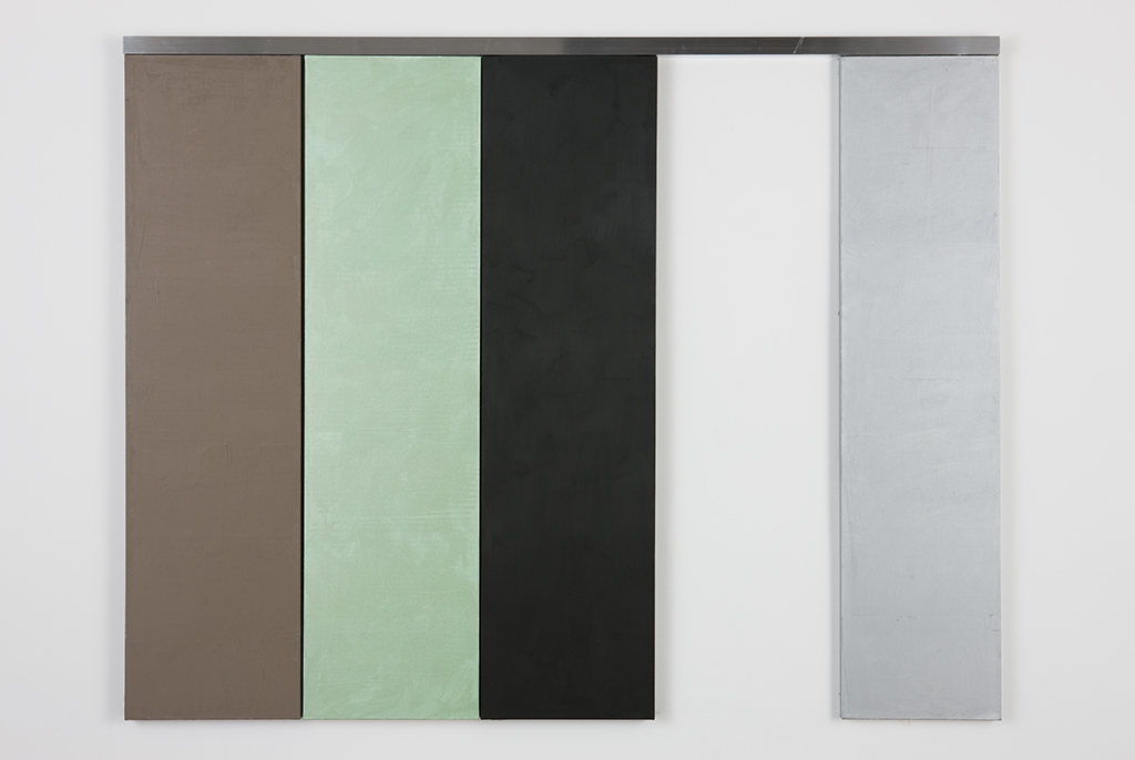 , 2008, Oil on canvas and aluminum, 180 x 250 cm, , photo: Eduardo Ortega