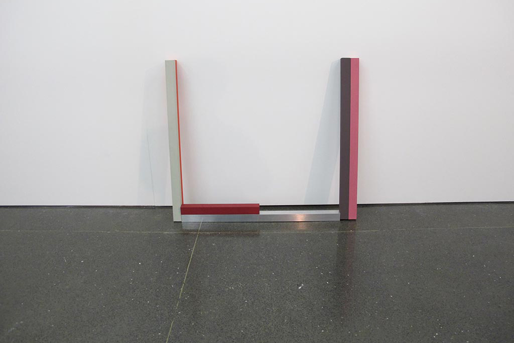 , 2012, Oil painted canvas on alumimiun tube, wood and aluminium, in six parts, 100 x 115 x 20 cm, , unique artwork