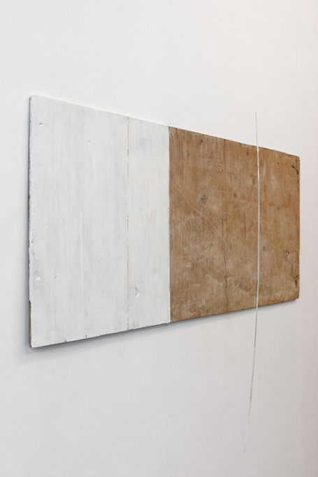 , 2012, Wood, thread and painting, 105 x 125 x 25 cm, , photo: Aur�lien Mole, Collection Centre Georges Pompidou, Paris, France